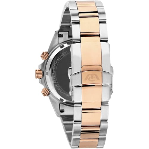 R8273607006 Inox Stainless Steel Pvd Rose Gold Philip Watch Chronogr